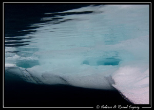 Icy abstraction by Raoul Caprez 